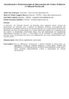 DIGITALIZAÇÃO E PROCESSAMENTO DE DOCUMENTOS DO CENTRO HISTÓRICO E CULTURAL MACKENZIE