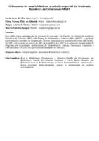 O RENASCER DE UMA BIBLIOTECA: A COLEÇÃO ESPECIAL DA ACADEMIA BRASILEIRA DE CIÊNCIAS NO MAST