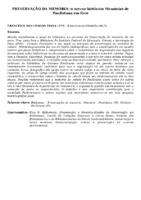 PRESERVAÇÃO DA MEMÓRIA: O ACERVO HISTÓRICO MEMÓRIAS DE PAULISTANA EM FOCO