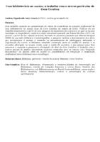 UMA BIBLIOTECÁRIA NO MUSEU: O TRABALHO COM O ACERVO PARTICULAR DE CORA CORALINA
