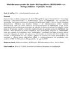 Modelos emergentes de dados bibliográficos: BIBFRAME e as desegualidades regional e social