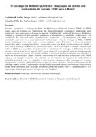 O catálogo da Biblioteca do IBGE como meio de acesso aos indicadores da Agenda 2030 para o Brasil