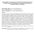 ORALIDADE, LETRAMENTO E LETRAMENTO INFORMACIONAL: um olhar sobre os licenciandos dos cursos de licenciatura do Instituto Federal de Rondônia