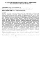 AS AÇÕES DE IMPLANTAÇÃO DA LEI Nº 12.244/2010 NOS MUNICÍPIOS DA GRANDE VITÓRIA/ES