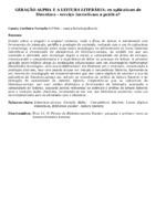 GERAÇÃO ALPHA E A LEITURA LITERÁRIA: os aplicativos de literatura - serviço incentivam a prática?