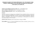 POSSIBILIDADES INTERDISCIPLINARES DE ATIVIDADES PARA FEIRAS LITERÁRIAS: UM CASO DE SUCESSO DE INICIAÇÃO CIENTÍFICA NO SESI-ES