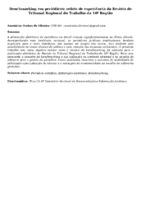Benchmarking em periódicos: relato de experiência da Revista do Tribunal Regional do Trabalho da 10ª Região