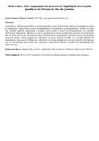 Onde está a Lei?: mapeando os acervos de legislação dos órgãos jurídicos do Estado do Rio de Janeiro