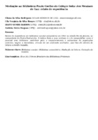 Mediação na Biblioteca Paulo Coelho do Colégio Solar dos Meninos de Luz: relato de experiência