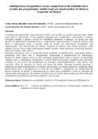 Inteligência competitiva como competência do bibliotecário: gestão da propriedade intelectual nas Instituições de Ensino Superior no Brasil