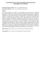 A INFLUÊNCIA DA AÇÃO CULTURAL EM ESPAÇOS DE INTEGRAÇÃO DE IDOSOS