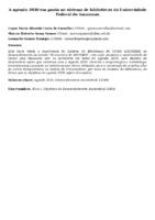 A agenda 2030 em pauta no sistema de bibliotecas da Universidade Federal do Amazonas