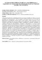 As Universidades Públicas Brasileiras e suas Bibliotecas: a importância na constituição do profissional atuante na Fundação Oswaldo Cruz (FIOCRUZ)