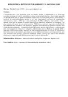 BIBLIOTECA, INTERCULTURALIDADE E A AGENDA 2030