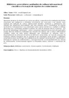 Biblioteca universitária: mediações da cultura informacional científica e formação de sujeitos do conhecimento