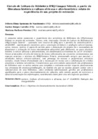 Círculo de Leitura da Biblioteca IFRJ/Campus Niterói, a partir da literatura história e cultura africana e afro-brasileira: relato de experiência de um projeto de extensão