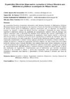 Exposições literárias itinerantes: incentivo à leitura literária nas bibliotecas públicas municipais de Minas Gerais