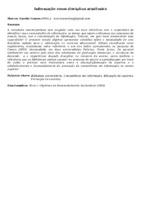 Informação como disciplina acadêmica