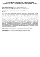 O INTER-RELACIONAMENTO DA COMPETÊNCIA EM INFORMAÇÃO COM A COMPETÊNCIA LEITORA NA ERA DIGITAL