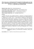 Parcerias para a realização do 6º Seminário de Informação em Arte para a disseminação dos Objetivos de Desenvolvimento Sustentável da ONU: a experiência da REDARTE/RJ