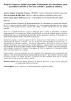 Projeto Pequenos Leitores-projeto de formação de educadores para garantia do direito à literatura desde a primeira infância