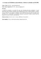 A criança na biblioteca universitária: relato de inclusão na PUCPR
