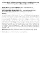 As Tecnologias de Infomação e Comunicação como Mediadoras nas Práticas Pedagógicas da EJA para Jovens e Adultos