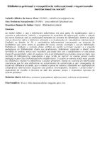 Biblioteca prisional e competência informacional: esquecimento institucional ou social?