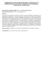 COMPETÊNCIA EM INFORMAÇÃO PARA A CIDADANIA E O EMPODERAMENTO DO POVO KARITIANA EM RONDÔNIA: ACHADOS DA LITERATURA