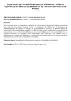 Capacitação em Acessibilidade para as bibliotecas:  relato de experiência do Sistema de Bibliotecas da Universidade Federal de Pelotas