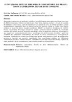 O ESTADO DA ARTE DE BIBLIOTECA COMUNITÁRIA NO BRASIL: COMO A LITERATURA DEFINE ESTE CONCEITO