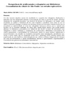 Perspectivas de acolhimento a refugiados nas Bibliotecas Comunitárias da cidade de São Paulo: um estudo exploratório.