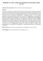 Realidade do usuário autista nas unidades de informação: estudo de caso