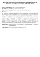 Relato da experiência: o caso das obras de direitos humanos da Biblioteca Central da Universidade de Brasília (UnB)