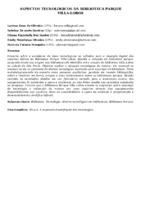 ASPECTOS TECNOLÓGICOS DA BIBLIOTECA PARQUE VILLA-LOBOS