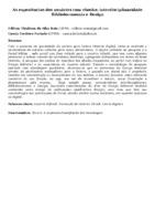 As experiências dos usuários com ebooks: interdisciplinaridade Biblioteconomia e Design