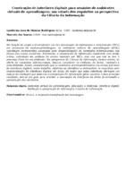 Construção de interfaces digitais para usuários de ambientes virtuais de aprendizagem: um estudo dos requisitos na perspectiva da Ciência da Informação