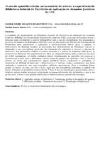 O uso do aparelho celular no inventário de acervo: a experiência da Biblioteca Setorial do Escritório de Aplicação de Assuntos Jurídicos da UEL