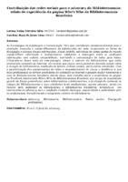 Contribuição das redes sociais para o advocacy da Biblioteconomia: relato de experiência da página Who's Who da Biblioteconomia Brasileira