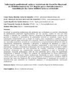 Valorização profissional: ações e iniciativas do Conselho Regional de Biblioteconomia da 11ª Região para o fortalecimento e consolidação da classe bibliotecária na sociedade.