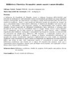 Biblioteca Florestan Fernandes: novos rumos e novos desafios