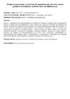 Desburocratizando o processo de aquisição de acervos: novas práticas licitatórias na Rede Sesc de Bibliotecas