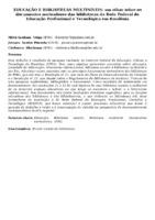 EDUCAÇÃO E BIBLIOTECAS MULTINÍVEIS: um olhar sobre os documentos norteadores das bibliotecas da Rede Federal de Educação Profissional e Tecnológica em Rondônia