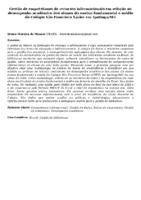 Gestão de empréstimos de recursos informacionais em relação ao desempenho acadêmico dos alunos do ensino fundamental e médio do Colégio São Francisco Xavier em Ipatinga/MG