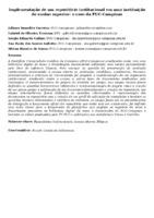 Implementação de um repositório institucional em uma instituição de ensino superior: o caso da PUC-Campinas
