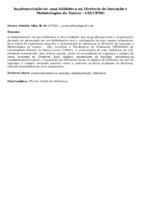 Implementação de uma biblioteca na Diretoria de Inovação e Metodologias de Ensino - GIZ/UFMG