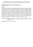 MODERNIZAÇÃO DA GESTÃO DE PERIÓDICOS CIENTÍFICOS