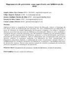 Mapeamento de processos: uma experiência nas bibliotecas do IFSP