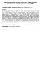 O bibliotecário/a e os desafios da extensão: gestão do projeto Paraíba Literária da Biblioteca Central da UFPB