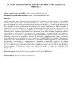 Os novos instrumentos de avaliação do MEC e seu impacto na Biblioteca